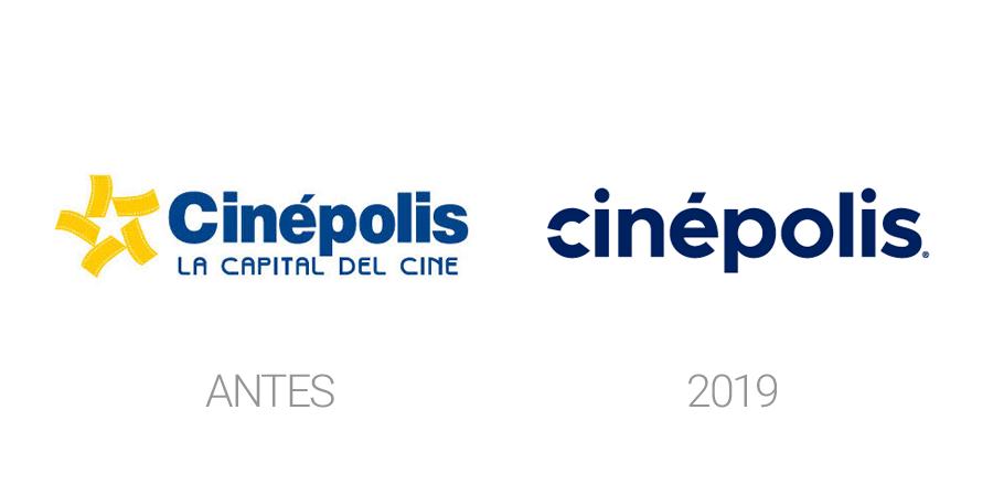Rediseños de logos en 2019 - Cinépolis