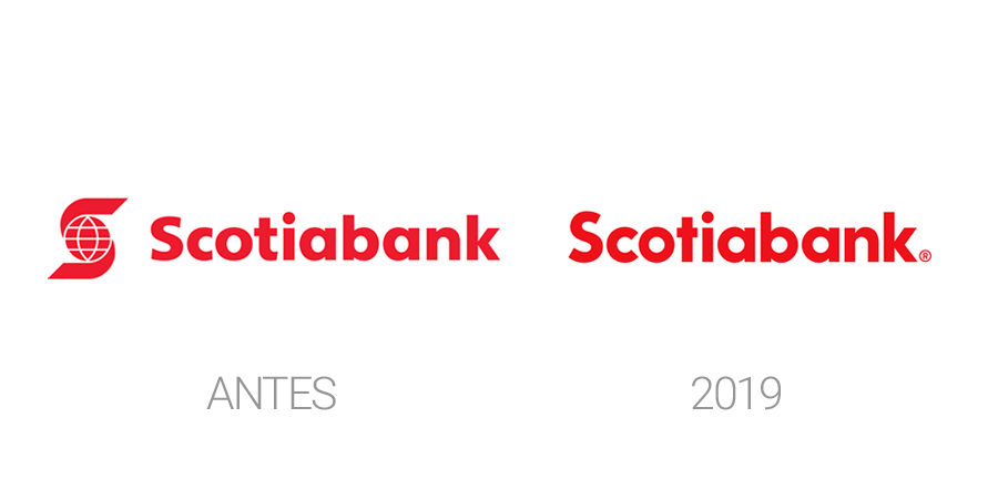 Rediseños de logos en 2019 - Scotiabank 2019