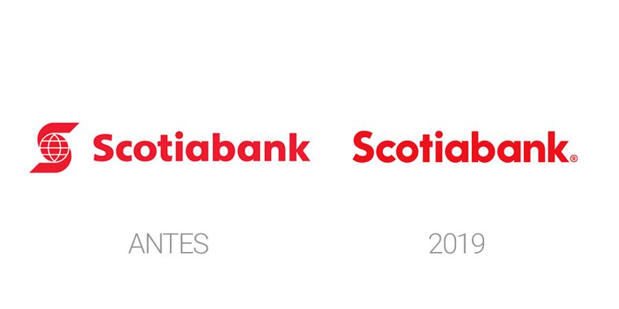 Rediseño de logo Scotiabank 2019