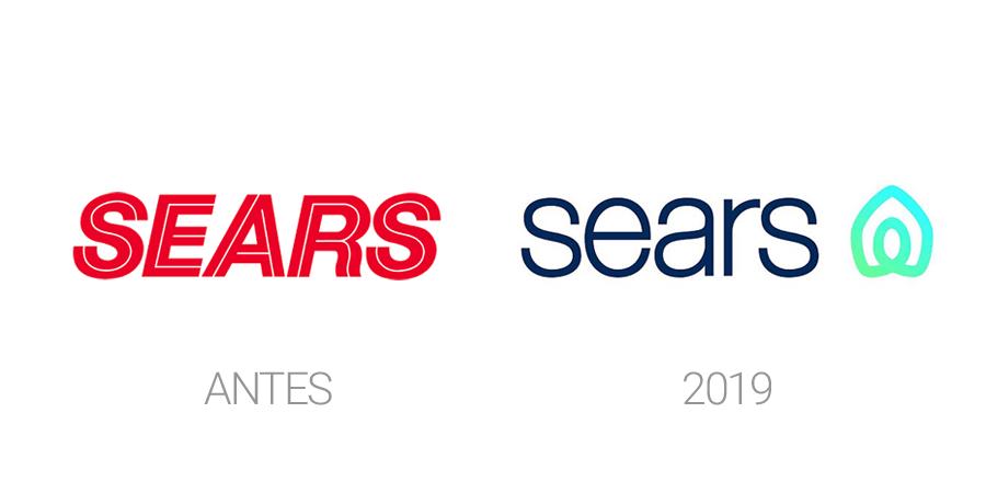 Rediseños de logos en 2019 - Sears