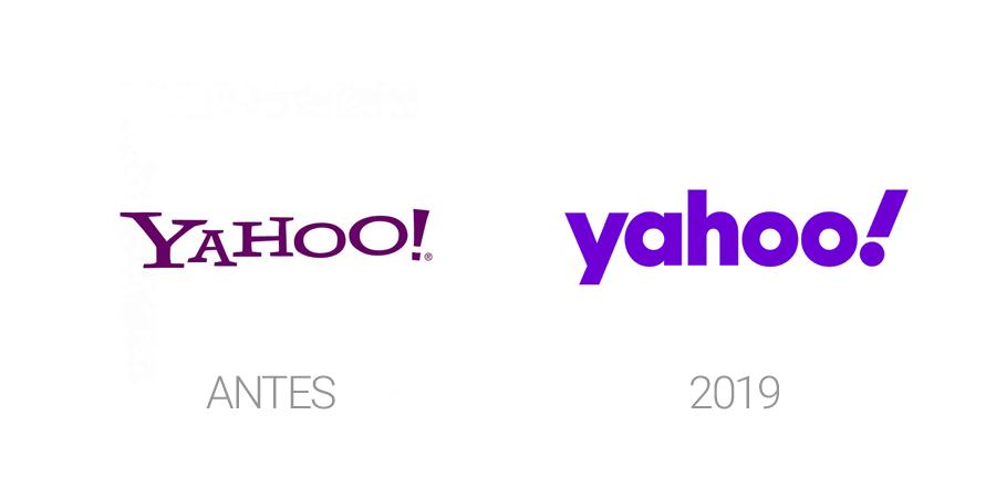 Rediseños de logos en 2019 - Yahoo!