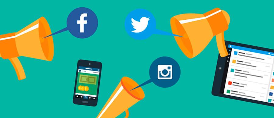 Enlaza tus redes sociales