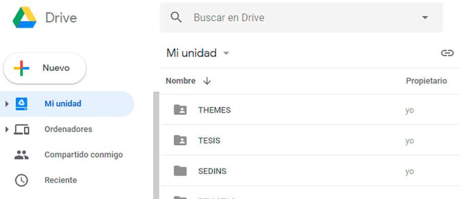 Drive es una de las herramientas de la suite de Google