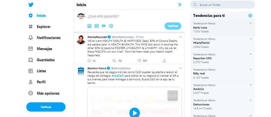 Twitter es la red de noticias más popular en México