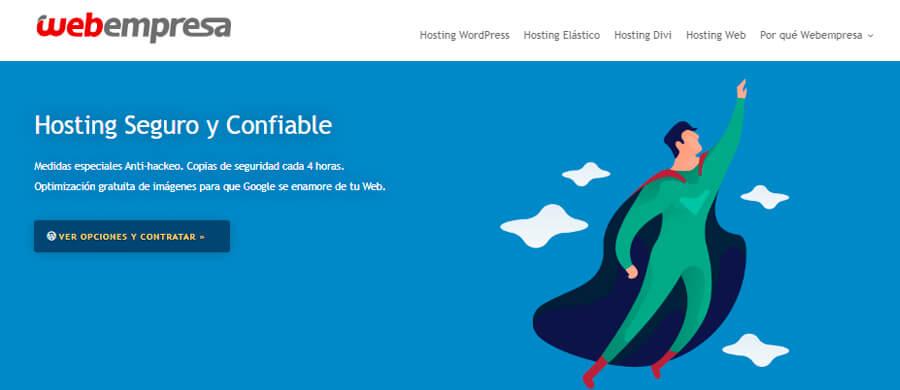 Sitio web de Webempresa