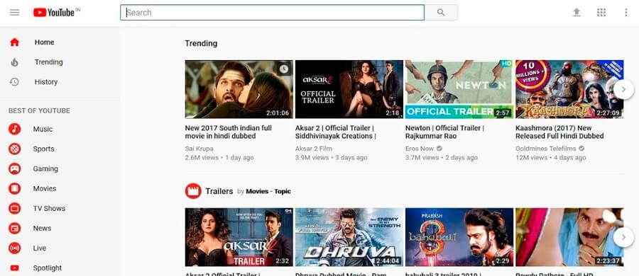 Youtube es el sitio de videos más visitado