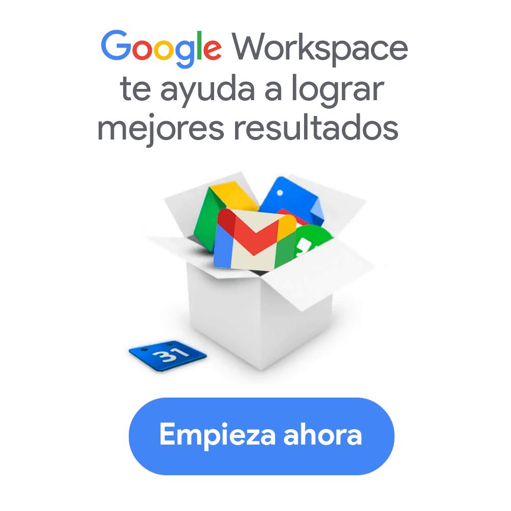 Empieza con Google Workplace ahora