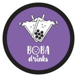 Logo Boba Drinks
