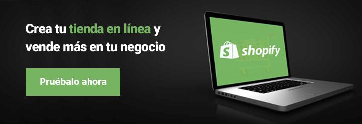 Shopify - Crea tu tienda en línea y vende más en tu negocio