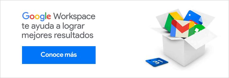 Google Workspace te ayuda a lograr mejores resultados