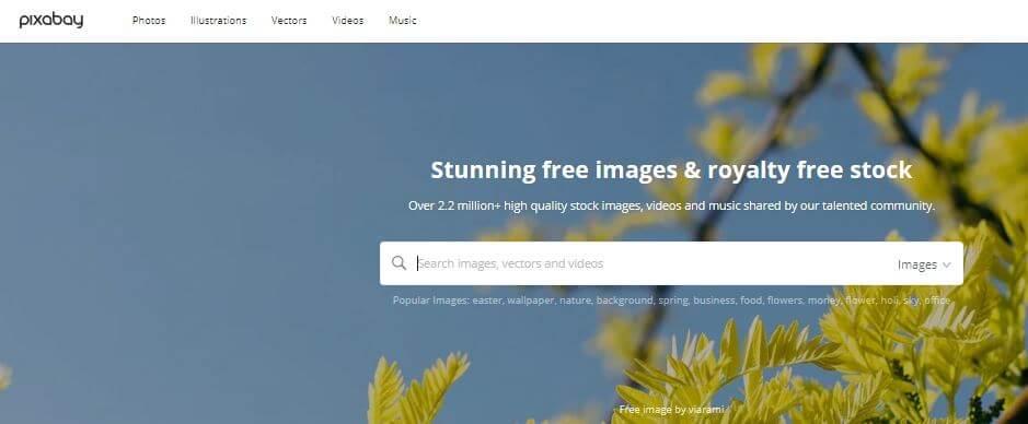 Pixabay es uno de los mejores sitios para descargar imágenes gratis