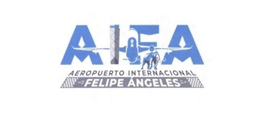 El logo anterior del Aeropuerto Felipe Ángeles
