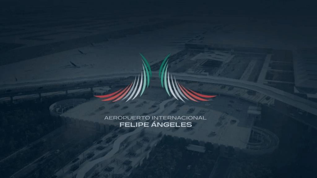 Este es el nuevo logo del Aeropuerto Felipe Ángeles